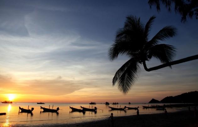 Plage de l'ile de Koh Tao