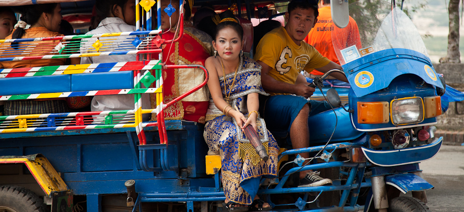 Habit traditionnel Laos