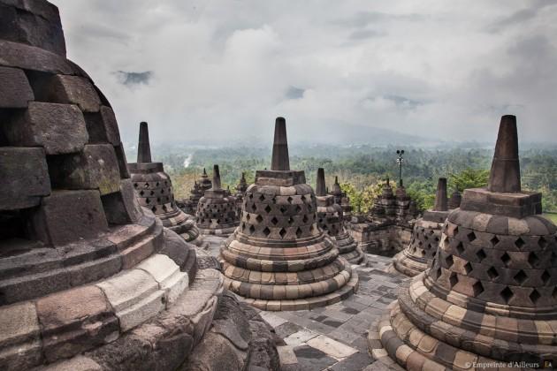 Borobudur, Java - Indonésie