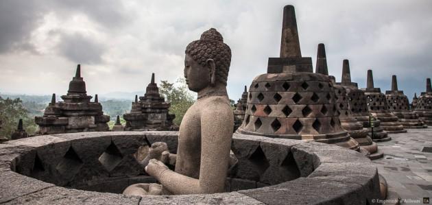 Borobodur, Java - Indonésie