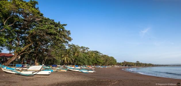 Village de pêcheur de Batu Karas