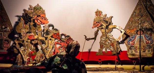 Théâtre d'ombre Wayang Kulit