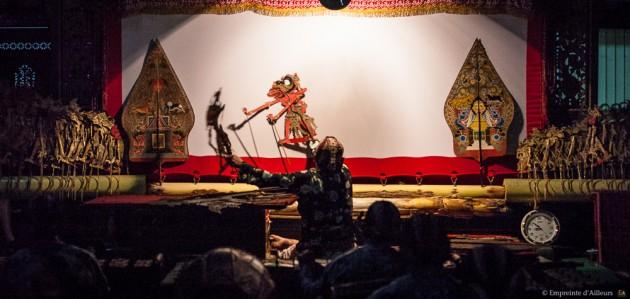 Le maitre du Wayang Kulit
