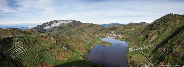 Sikunir sur le plateau de Dieng
