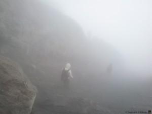 Descente du Merapi