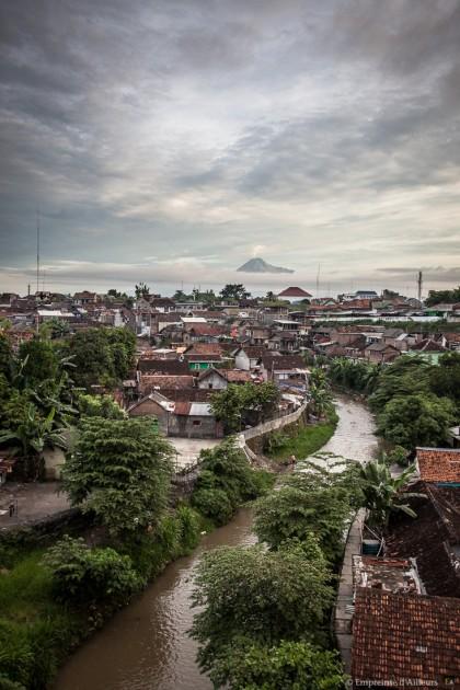 Merapi depuis Yogyakarta