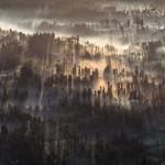 Magie du brumeux Bromo