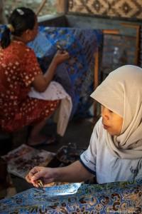 Réalisation d'un batik