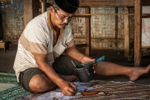 Création d'un motif batik