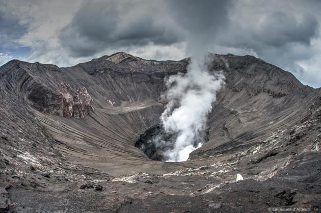 Cratère du volcan Bromo