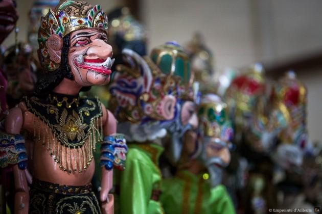 Marionnettes Wayang Golek