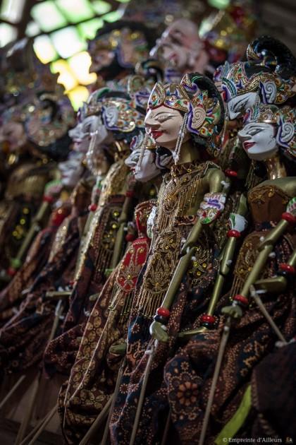 Marionnettes traditionnelles Javanaise